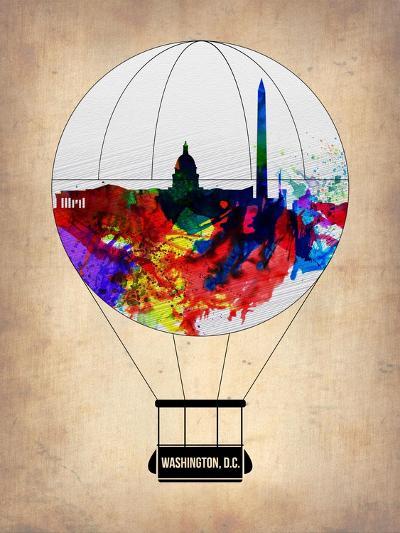 Washington, D.C. Air Balloon-NaxArt-Art Print
