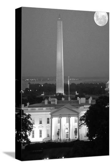 Washington D.C.--Stretched Canvas Print