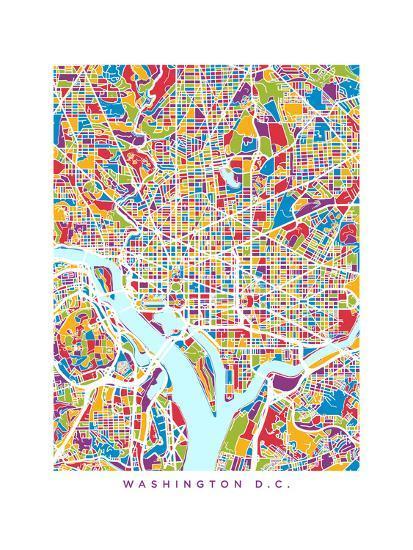 City Map Of Washington Dc on