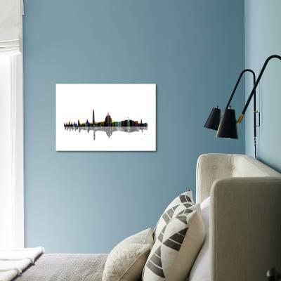 Washington Dc Skyline Bw 2 Giclee Print Marlene Watson Art Com