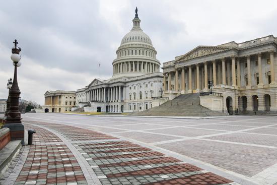 Washington Dc, US Capitol Building East Facade-Orhan-Photographic Print