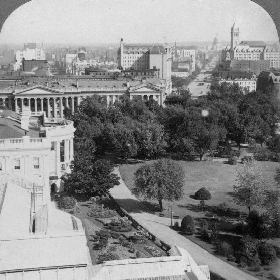 Washington Dc., USA, 1902-Underwood & Underwood-Photographic Print