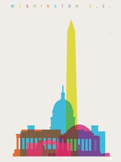 Washington DC-Yoni Alter-Giclee Print