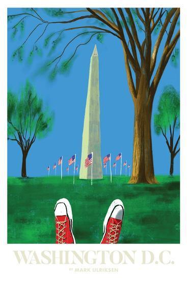Washington DC-Mark Ulriksen-Art Print