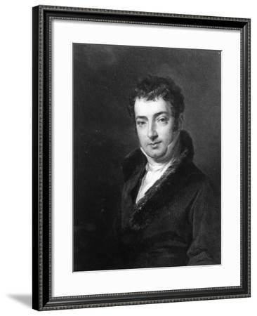 Washington Irving--Framed Giclee Print