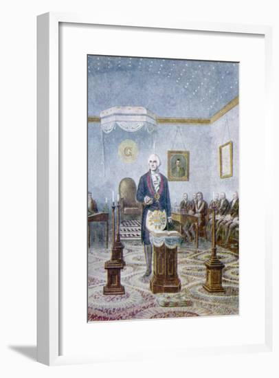 Washington, Mason--Framed Giclee Print