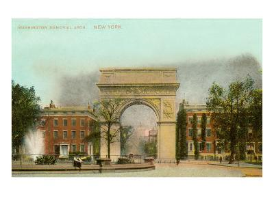 Washington Memorial Arch, New York City--Art Print