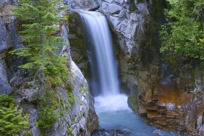Washington, Mount Rainier National Park. Christine Falls Scenic-Jaynes Gallery-Photographic Print