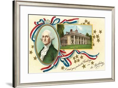 Washington, Mt. Vernon--Framed Art Print