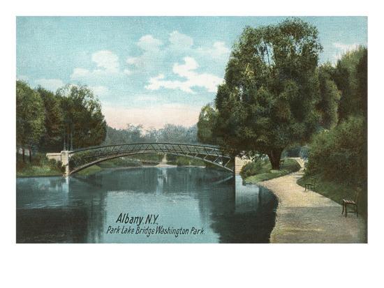 Washington Park, Albany, New York--Art Print