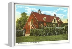 Washington's Barn, Mt. Vernon, Virginia