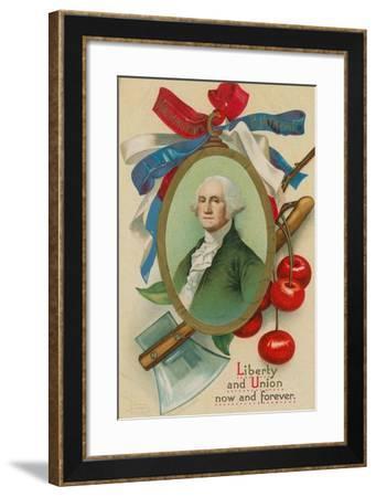 Washington's Birthday--Framed Giclee Print