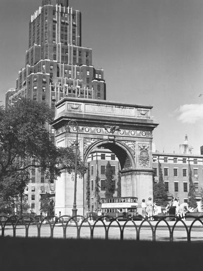 Washington Square Arch, New York City-George Marks-Photographic Print