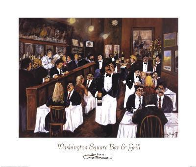 Washington Square Bar & Grill-Guy Buffet-Art Print