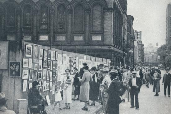 Washington Square, Greenwich Village, New York, USA, 1935-Unknown-Photographic Print