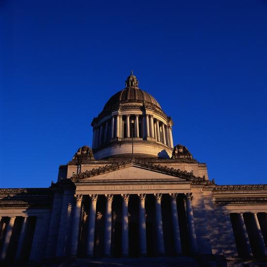 Washington State Capitol Building-Paul Souders-Photographic Print