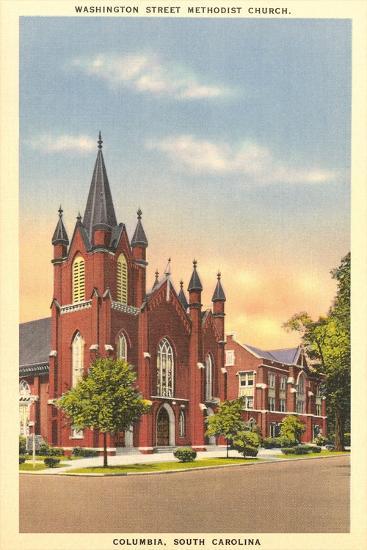 Washington Street Methodist, Columbia--Art Print