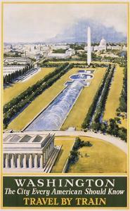 Washington Travel Poster