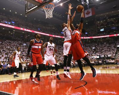 Washington Wizards v Toronto Raptors - Game One-Dave Sandford-Photo