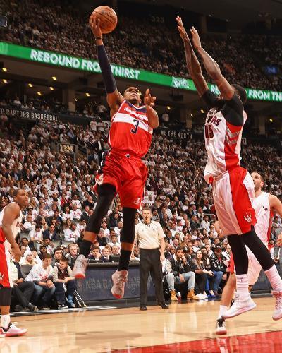 Washington Wizards v Toronto Raptors- Game Two-Ron Turenne-Photo