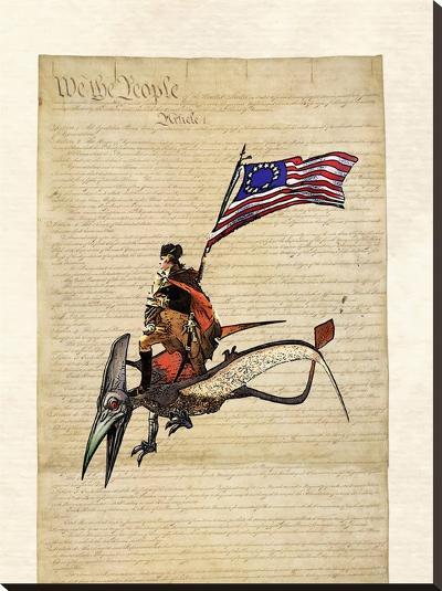 Washington-Matt Dinniman-Stretched Canvas Print