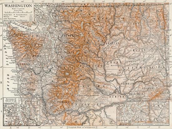 'Washington'-Unknown-Giclee Print