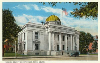 Washoe County Courthouse, Reno, Nevada