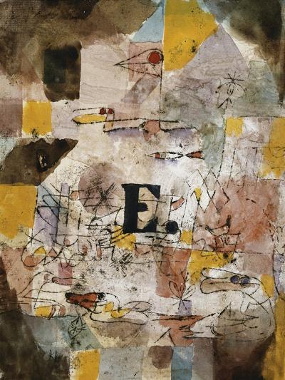 Wasservogel (E. nten)-Paul Klee-Giclee Print