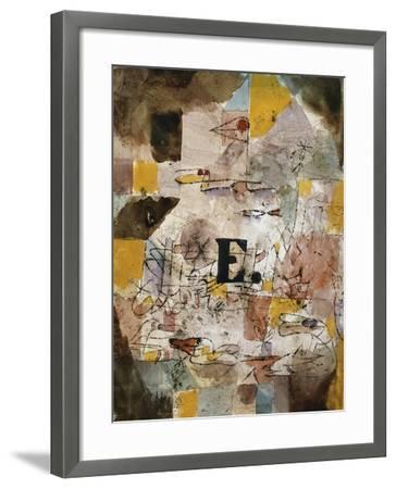 Wasservogel (E. nten)-Paul Klee-Framed Giclee Print