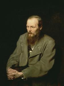 Portrait of Fyodor Dostoyevsky, 1872 by Wassili Perow