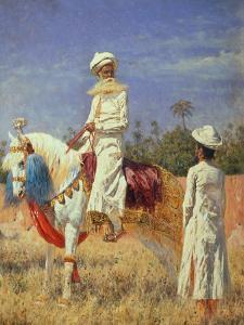 A Horseman in Jaipur, 1881 by Wassili Werestschagin