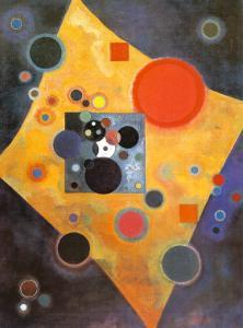 Akzent in Rosa by Wassily Kandinsky