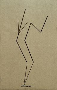 Analytical Drawing after Photos of Dancing, 1925 by Wassily Kandinsky