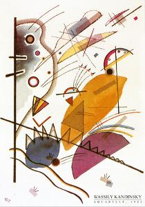 Aquarelle, 1923 by Wassily Kandinsky