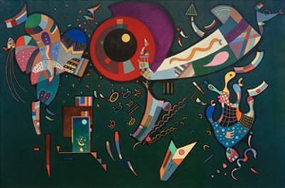 Around the Circle, 1940 by Wassily Kandinsky