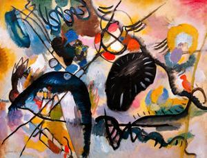 Black Patch, 1912 by Wassily Kandinsky