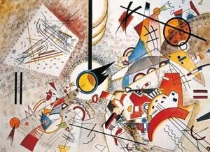Bustling Aquarelle, c.1923 by Wassily Kandinsky