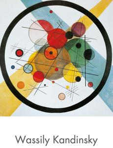 Circles in a Circle by Wassily Kandinsky