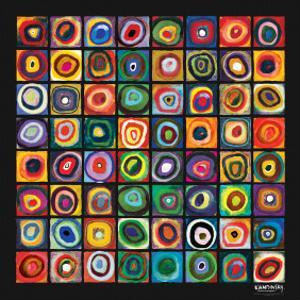 Color of Squares by Wassily Kandinsky