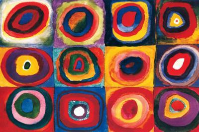 Color Study of Squares by Wassily Kandinsky