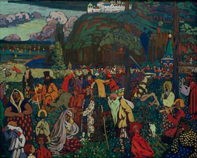 Colourful Life, 1907 by Wassily Kandinsky