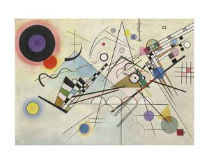 Composition 8, July 1923 by Wassily Kandinsky