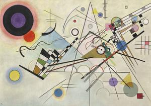 Composition 8, July 1923 by Wassily Kandinsky