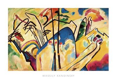 Composition no.4, 1911 by Wassily Kandinsky