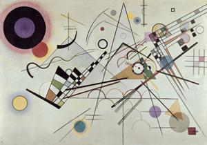 Composition no.8, 1923 by Wassily Kandinsky