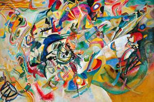 Composition VII, 1913 by Wassily Kandinsky