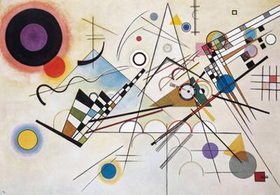 Composition VIII (1923) by Wassily Kandinsky