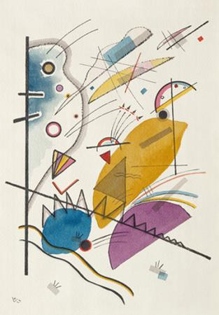 Composition with Vertical Bar,1923 by Wassily Kandinsky