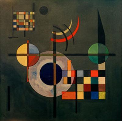Counterweights, 1926 by Wassily Kandinsky