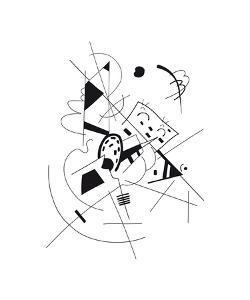 Dessin, 1918 by Wassily Kandinsky